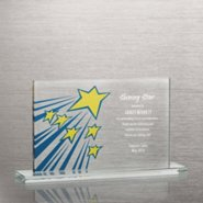 Brilliant Colored Glass Award - Shooting Stars